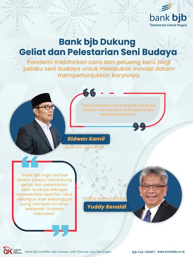 bank bjb Dukung Geliat dan Pelestarian Seni Budaya
