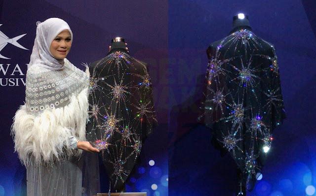 Gambar Tudung Paling Mahal Di Dunia, Berharga RM 100,000