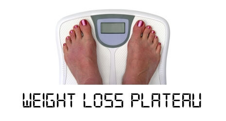 Weight loss plateau, weight loss