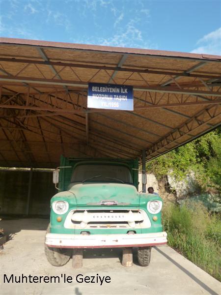 belediyenin ilk kamyonu