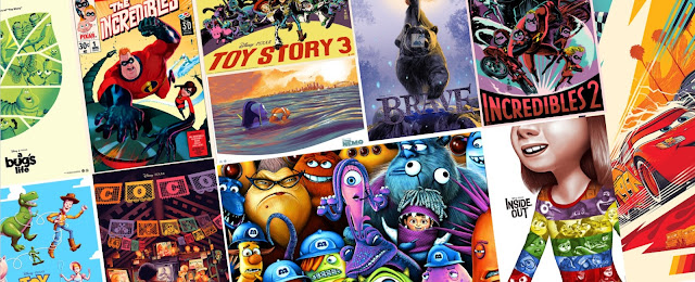 Mondo Spirit of Adventure Pixar Poster Collection