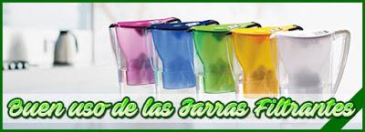 Tipo de las jarras filtrantes