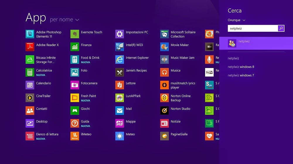 Come creare più Account con App personali su Windows 8.1