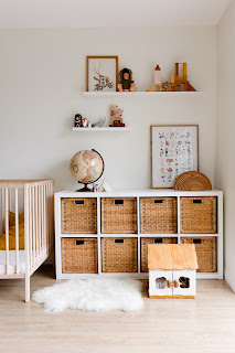 shelf and cabinets for kid's room