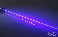 Metre uzunluk ölçüsünün bir ışık ışının boşlukta altığı yol ile gösterimi