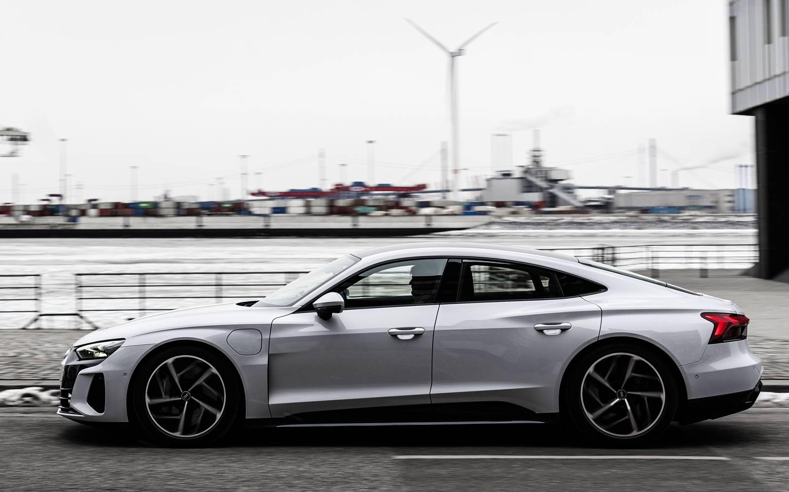 Audi e-Tron GT elétrico: pré-venda no Brasil começa em abril