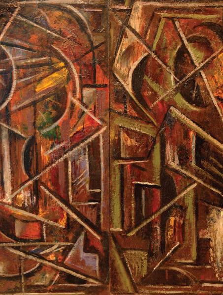 La Carreta (Detalle), 1953