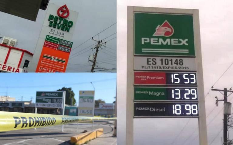 Gasolina es hasta 5 pesos más barata en la frontera norte, y el resto del país?