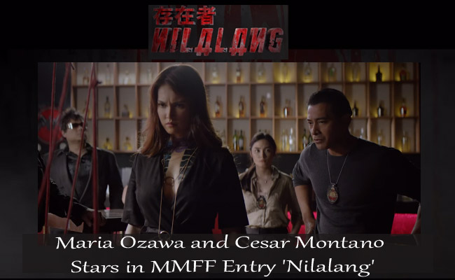 Maria Ozawa and Cesar Montano Stars in MMFF Entry 'Nilalang'