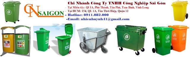 Cung cấp thùng rác 660 lít giá rẻ tại tiền giang- lh 0911082000- Nhiên