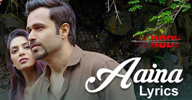 aaina lyrics by arko