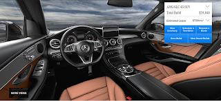 Nội thất Mercedes AMG GLC 43 4MATIC 2018 màu Nâu Saddle 234