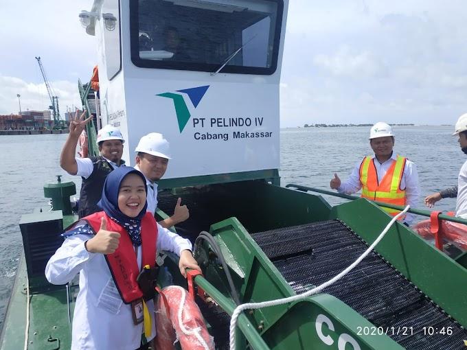 HPSN, Pelindo IV Resmikan 1 Kapal Sampah