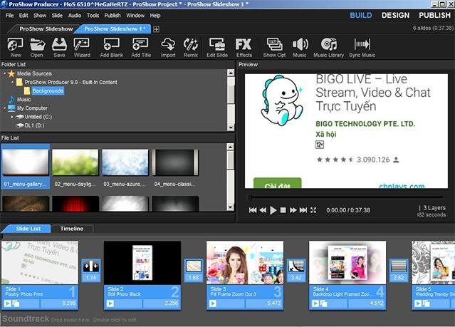 Tải Proshow Producer 9.0.3797 - Phần mềm Proshow làm video từ ảnh 3