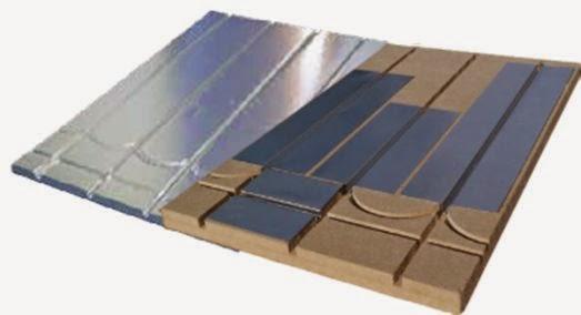 Plancher chauffant basse température par Caleosol
