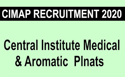 CIMAP Lucknow Recruitment  2020 Apply Online