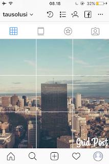 Tutorial Membuat Foto Grid Menyambung di Instagram 10