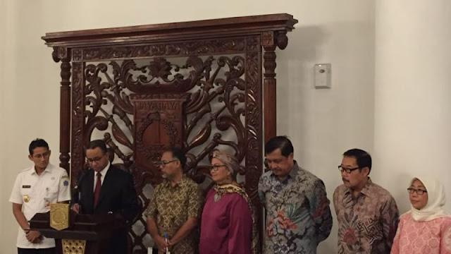 Anies Umumkan Berdirinya Komite Pencegahan Korupsi DKI