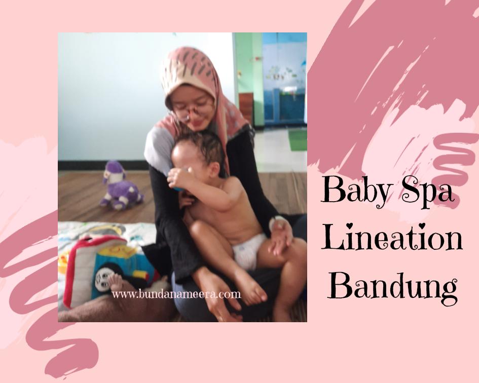 Review Baby Spa di Lineation Bandung, Baby spa di Bandung, tempat baby spa, kids spa di lineation bandung
