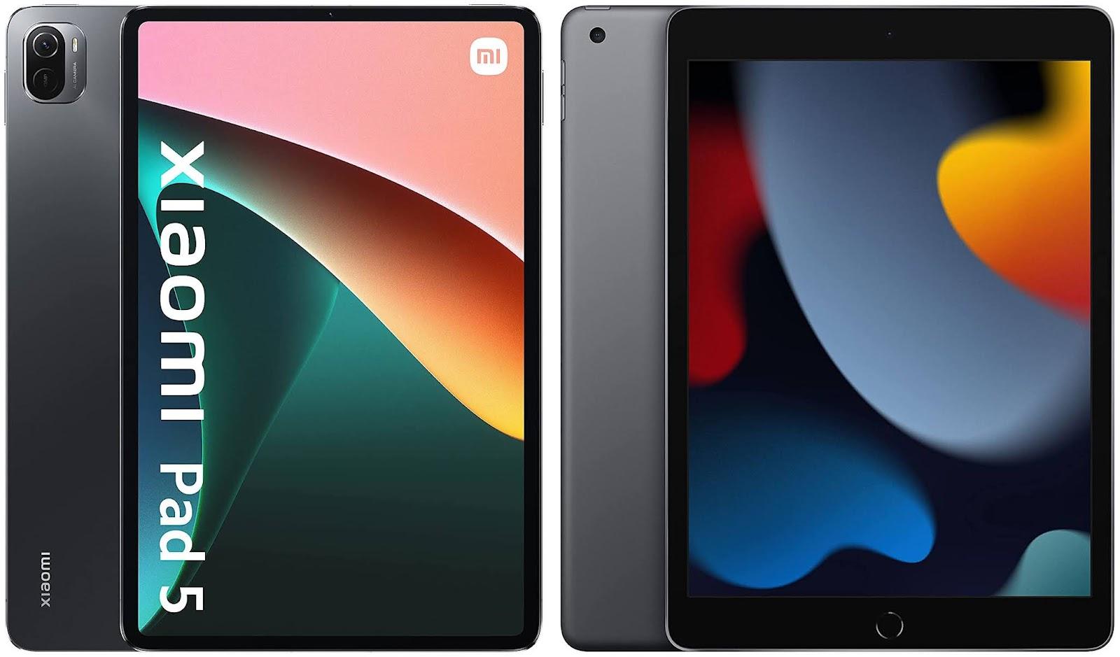 Xiaomi Pad 5 vs Apple iPad 10.2 (2021)