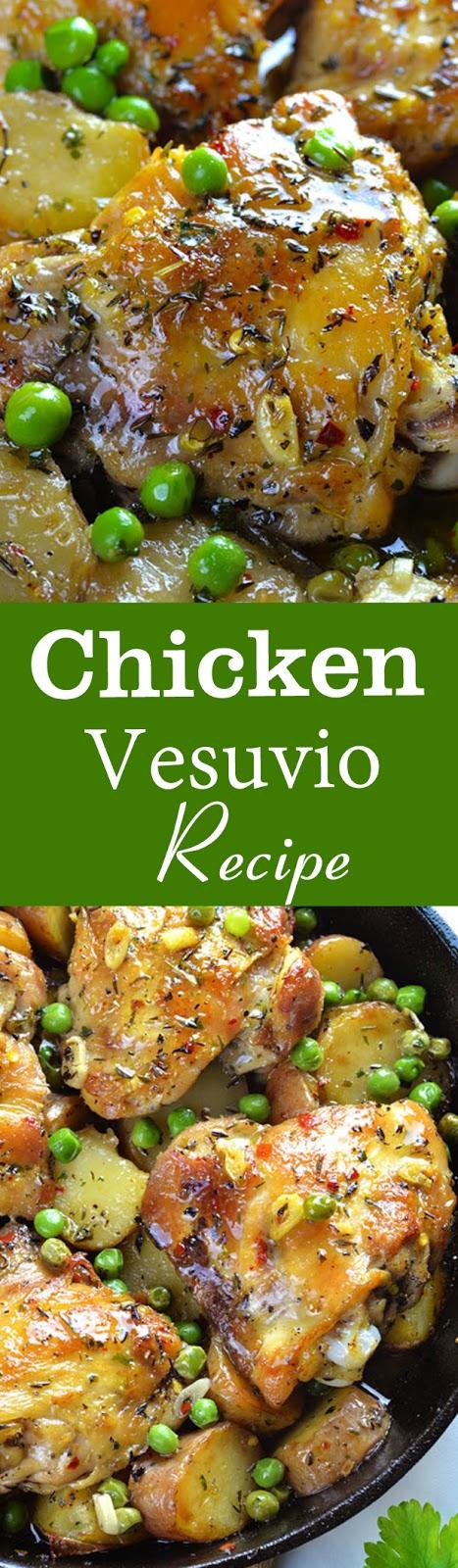 Chicken Vesuvio Recipe