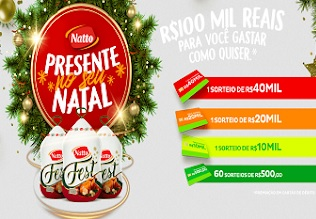 Promoção Presente no seu natal Natto Fest