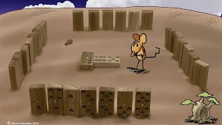 Ignacio con autoestima de dominó