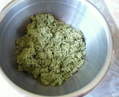 Mixture for Spinach Pasta