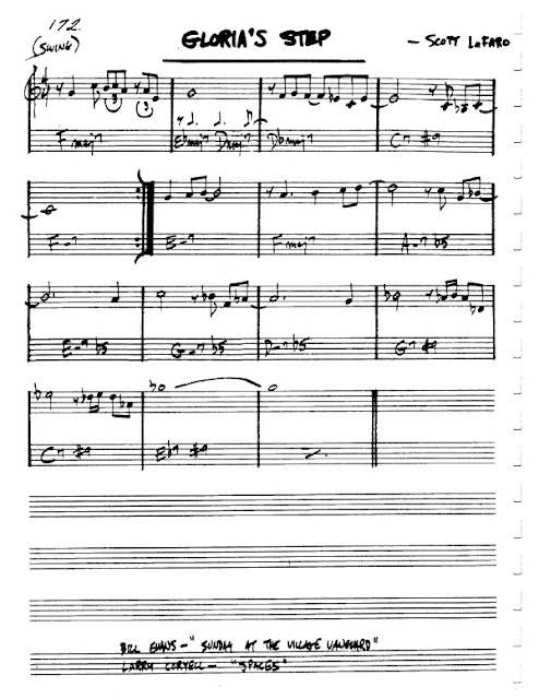 Partitura Violín Bill Evans Trio