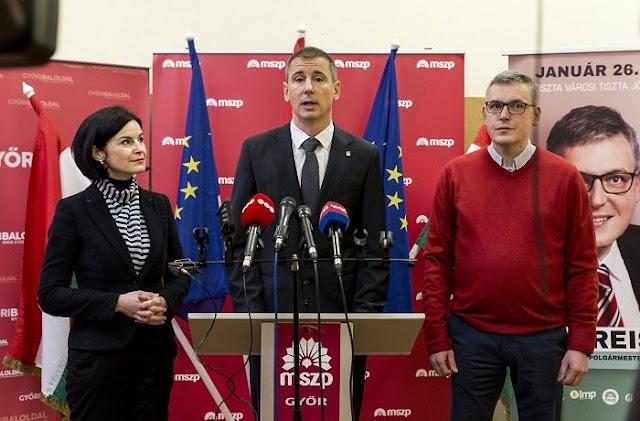 Öreg ÁVH-st köszöntött fel Szombathely baloldali polgármestere