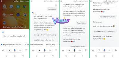 Cara Ngobrol Dengan Google Assistant Voice Di HP Android