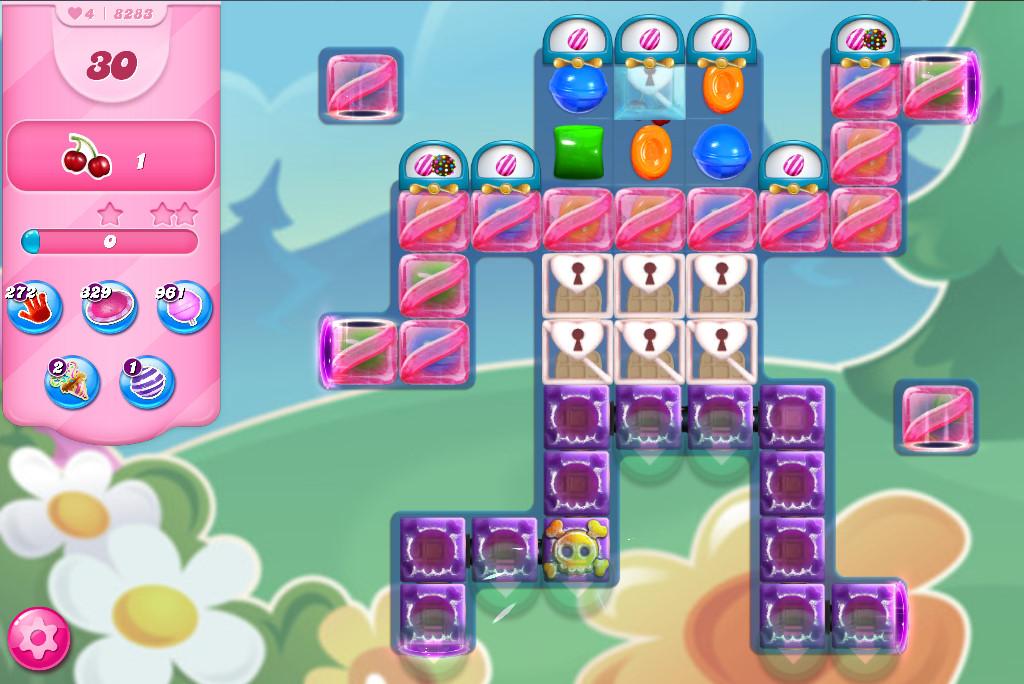 Candy Crush Saga level 8283