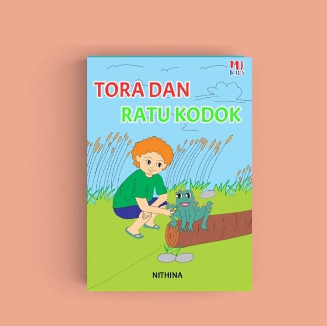 Review Buku Tora dan Ratu Kodok Belajar Tentang Hujan!