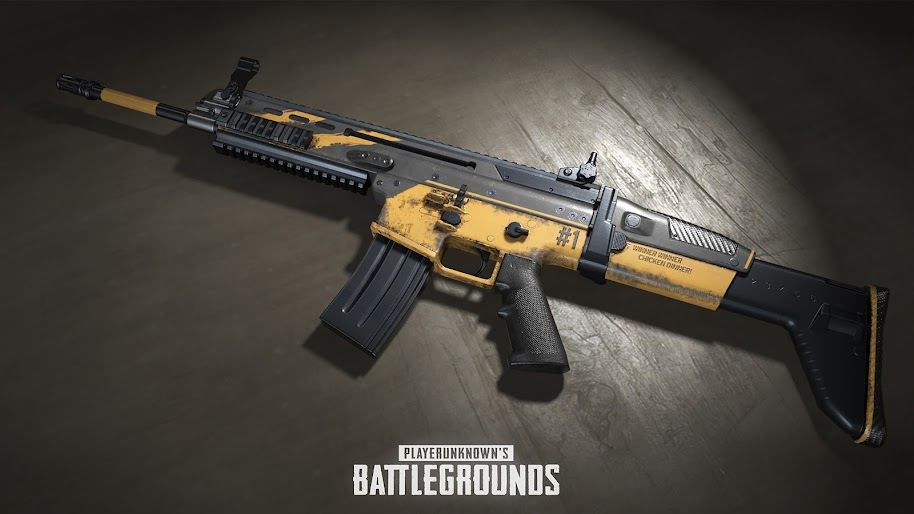 Pubg Rifle Playerunknown S Battlegrounds 4k Wallpaper 87