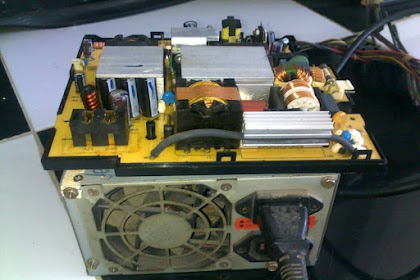 Power supply PS3 rusak tidak berfungsi diganti PSU komputer
