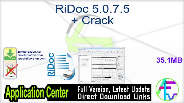 RiDoc 5.0.7.5 + Crack