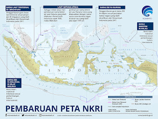 peta indonesia terbaru