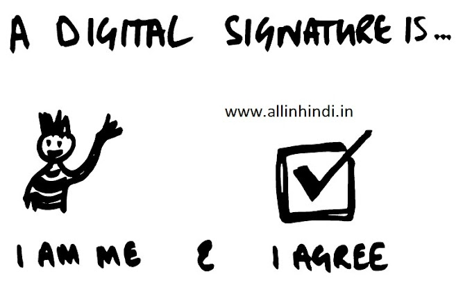 Digital Signature in Hindi || what is Digital Signature in Hindi