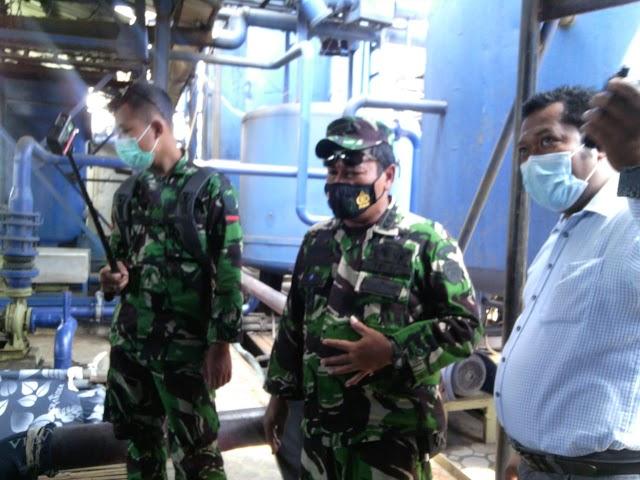 Satgas Citarum Harum Sektor 7 Kembali Patroli Dan Cek Limbah Pabrik CV. Jaya Lestari