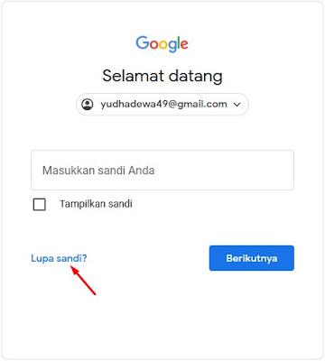 Lupa sandi - Lupa Password Gmail