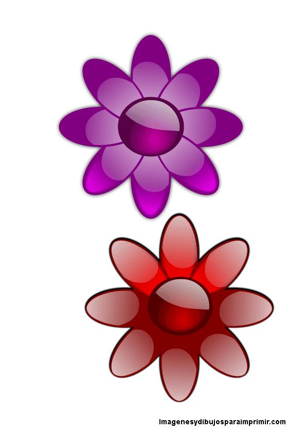 Flores de colores para imprimir imagenes y dibujos para - Dibujos en colores para imprimir ...