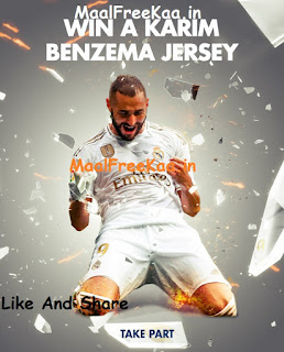 Real Madrid WIN his jersey!