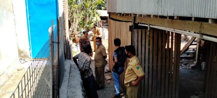 Kerjasama Pemdes Bersama Bhabinkamtibmas Desa Pattopkang Sengketa Batas Tanah  Batas Sepakat Berdamai