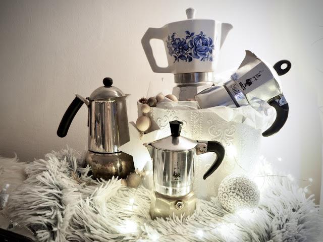 Tipy na vánoční dárky pro milovníky Itálie, moka konvice