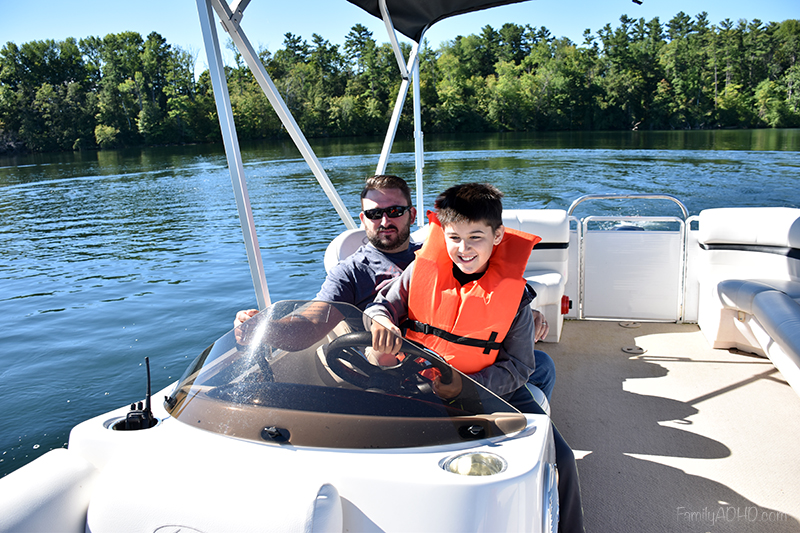 Berkshires Family Travel Guide Black Swann Inn Pontoon Boat