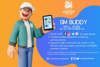 SM Center Dagupan's SM Buddy Mall Guide