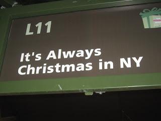 New York sempre Natale