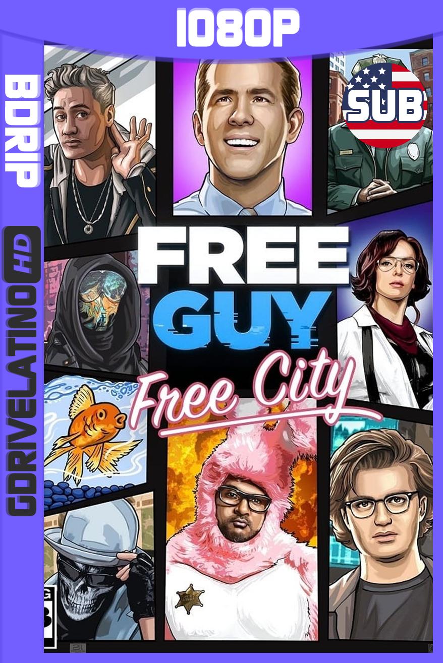 Free Guy: Tomando el Control (2021) BDRip 1080p Subtitulado