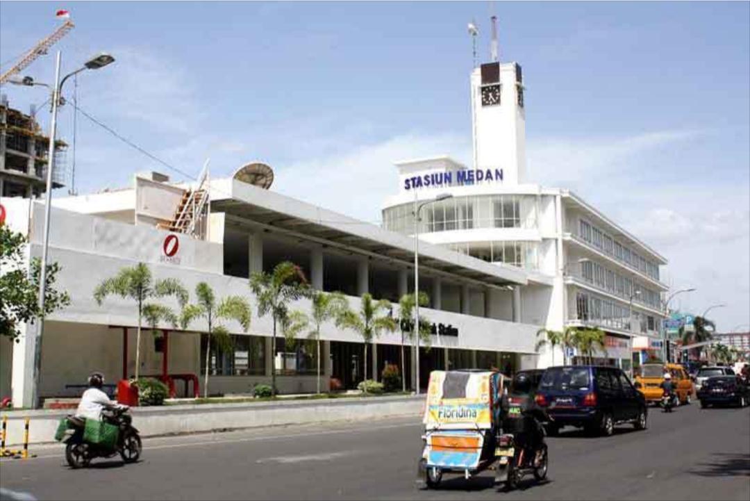 Stasiun kereta Medan, Stasiun Medan, Reilway Airport
