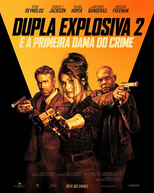 Pôster de DUPLA EXPLOSIVA 2 - Ryan Reynolds, Salma Hayek, Samuel L. Jackson